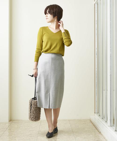 ツイードオックスタイトスカート