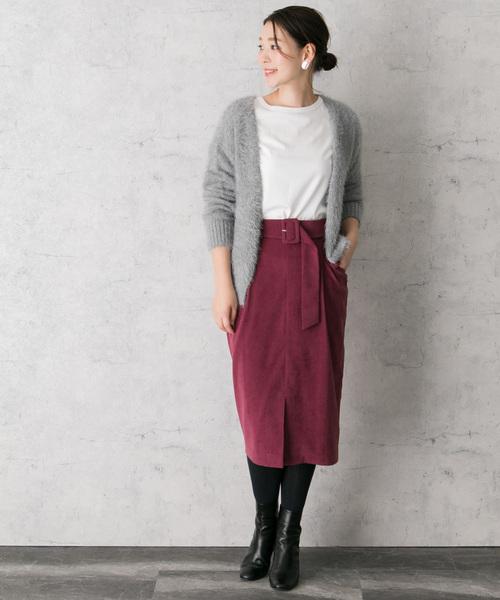 2WAYポケットタイトスカート