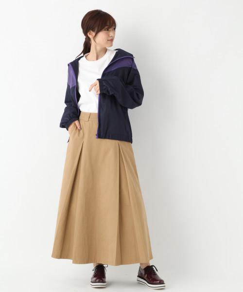 [GLOBAL WORK] タックロングスカート【URBAN SPORTS MIX STYLE】/812174