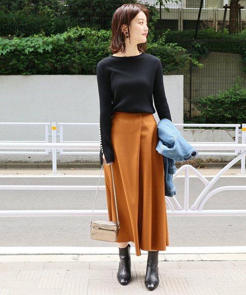 ハード圧縮フレアスカート