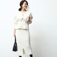 清潔感ある白を着る冬♡軽やかな着こなしを叶える白アイテムコーデ