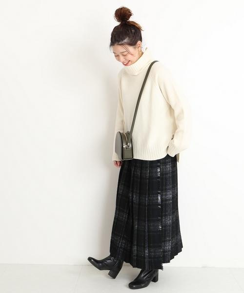 [JOURNAL STANDARD] カシミヤWOOL テンジク タートルネックプルオーバー◆