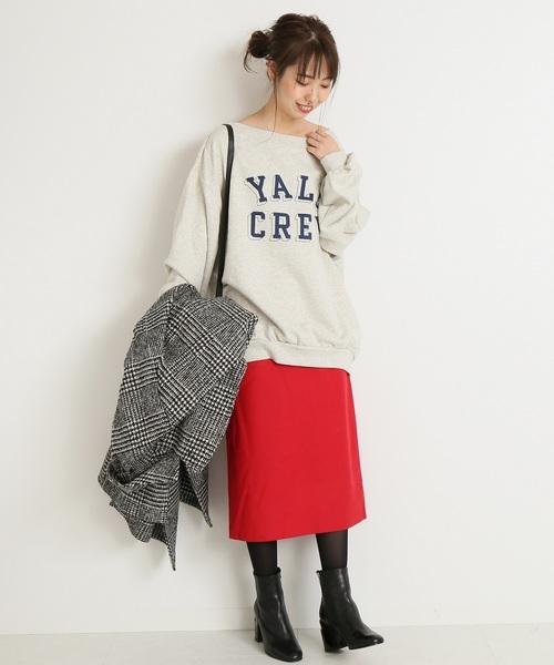 [Spick & Span] ミルドウールタイトスカート◆