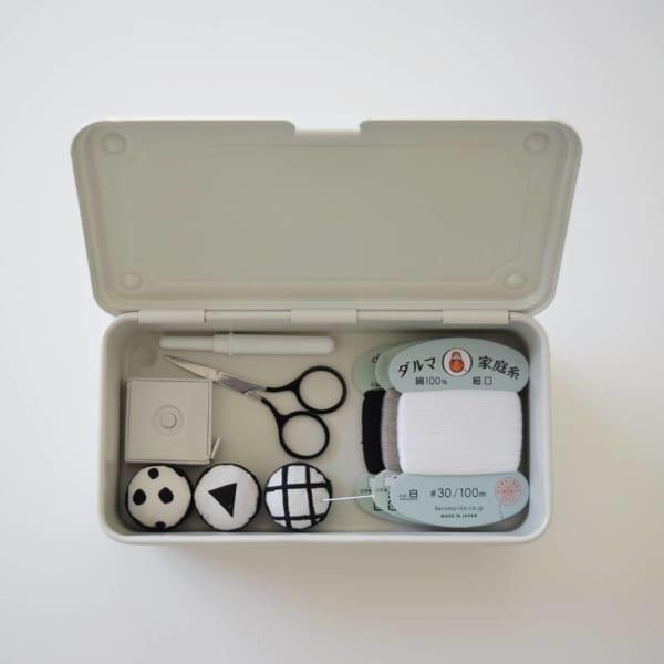 ミニサイズ裁縫箱②