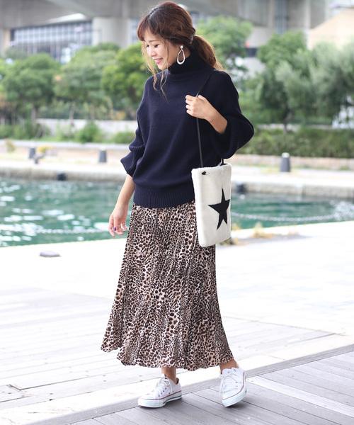 [Bou Jeloud] 【WEB限定】◆イタリア糸◆綺麗な発色・ルーズシルエットニットプルオーバー