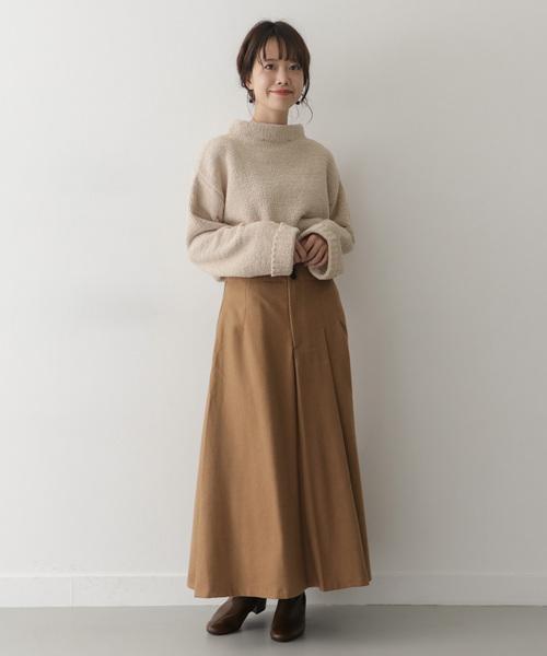 [ITEMS URBANRESEARCH] ウールタックアシメスカート