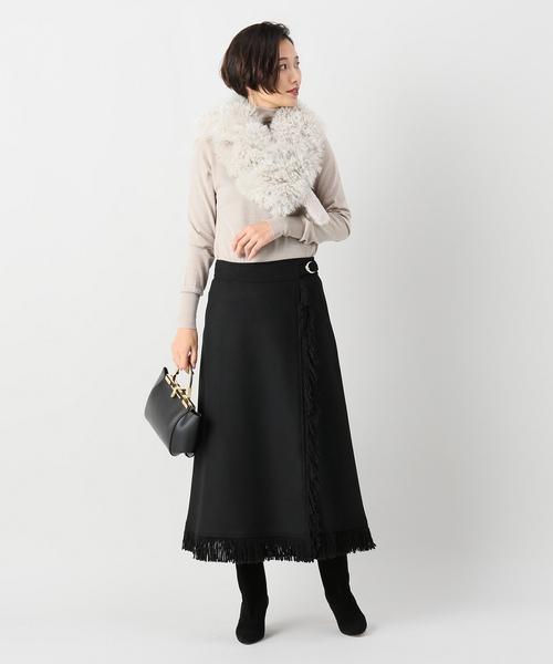 [IENA] VANESSA SEWARD フリンジスカート