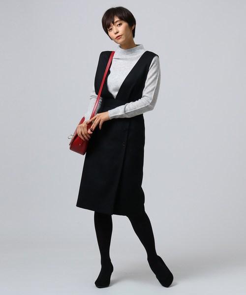 [UNTITLED] ネオストレッチジャンパースカート