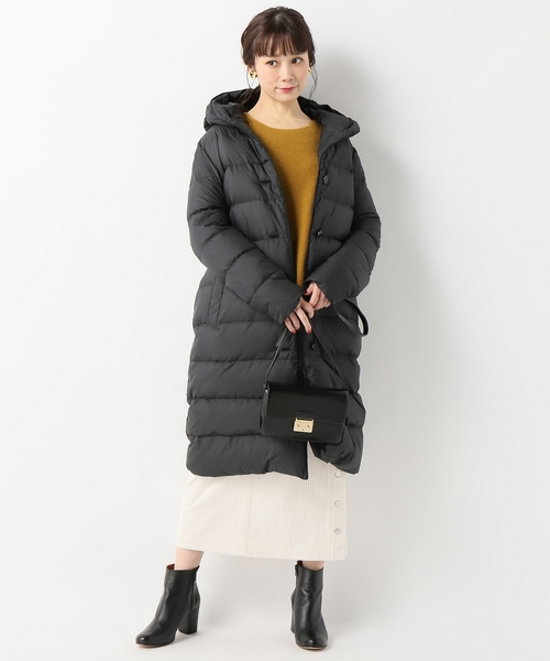 [IENA] TRADITIONAL WEATHERWEAR AVON ロングダウンコート