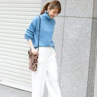 冬コーデを軽やかに♡大人女性の「ホワイトパンツ&スカート」まとめ