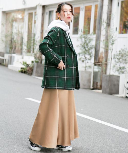 [URBAN RESEARCH ROSSO WOMEN] 【WEB限定】チェックジャケットコート