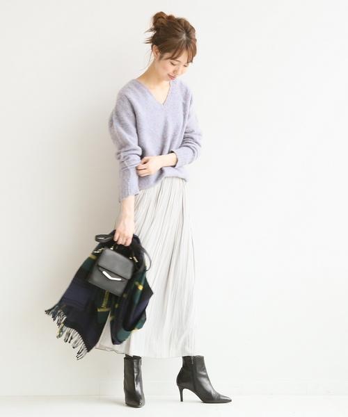 [Spick & Span] ロングギャザースカート◆