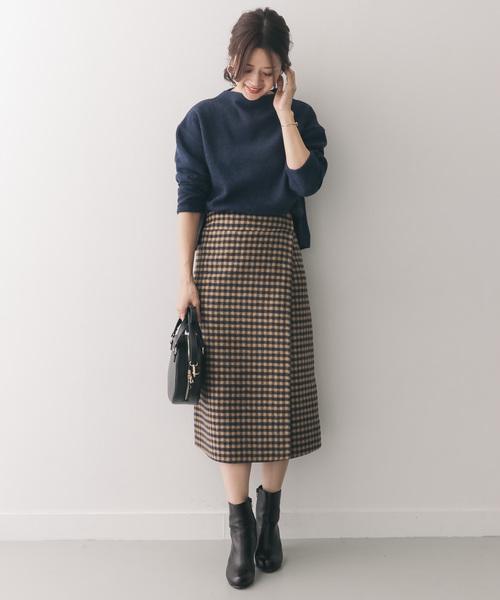 [URBAN RESEARCH DOORS] リバーシブル巻きスカート