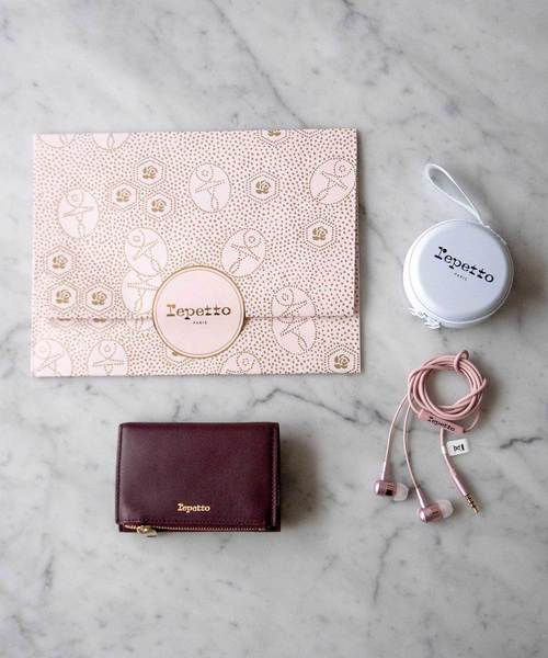 [Repetto] 【GIFT+NOVELTY】PORTEFEUILLE MINI, WALLET / M0453VP