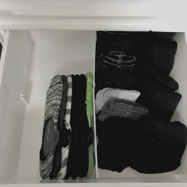 靴下のたたみ方&収納実例をご紹介57