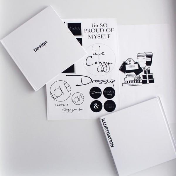 ダイソーの絵本が作れるノートをカスタマイズ2
