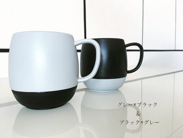 「セリア」のマグカップ