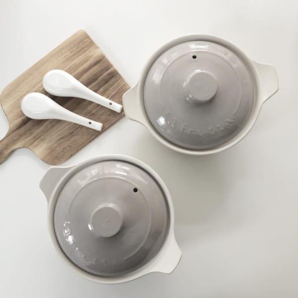 「ダイソー」のカラー土鍋