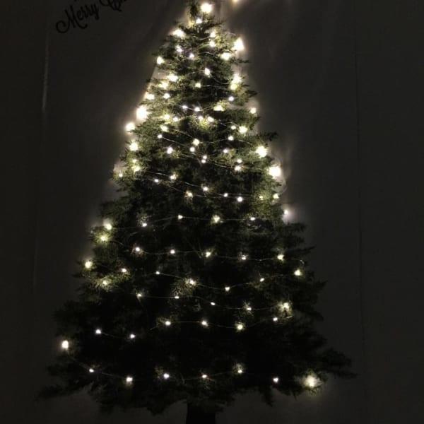 ツリータペストリーのあるクリスマス風景♡4