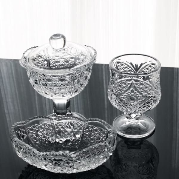 セリアの高台グラス