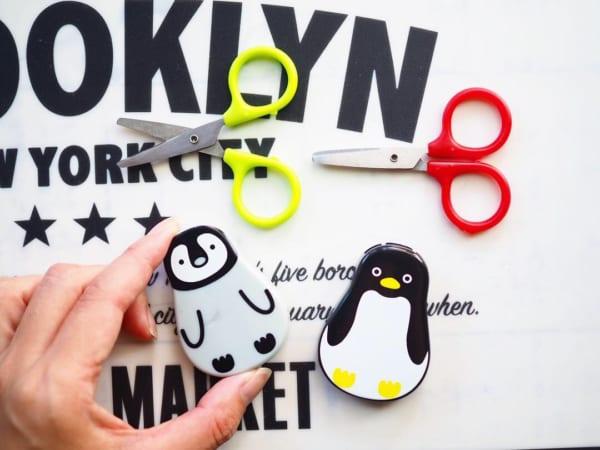 ■13.【キャンドゥ】マグネット付はさみ ペンギン3