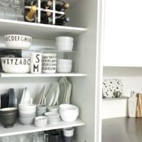【連載】おしゃれに収納!北欧ブランド×《セリア・イケアetc.》食器で作るモノトーン食器棚