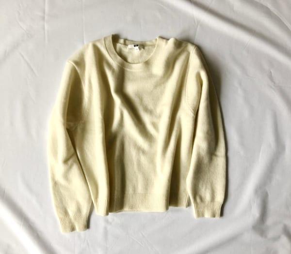 ①プレミアムラムセーター