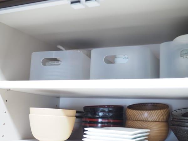 1.「積み重ねボックス・大」の収納アイデア2