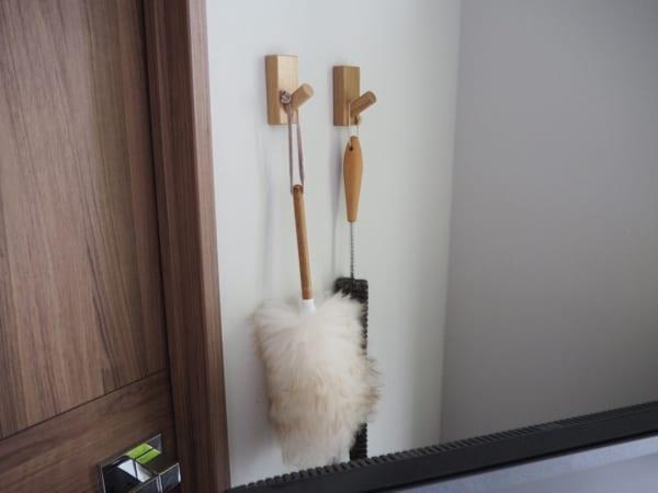 壁に付けられる家具・フック1