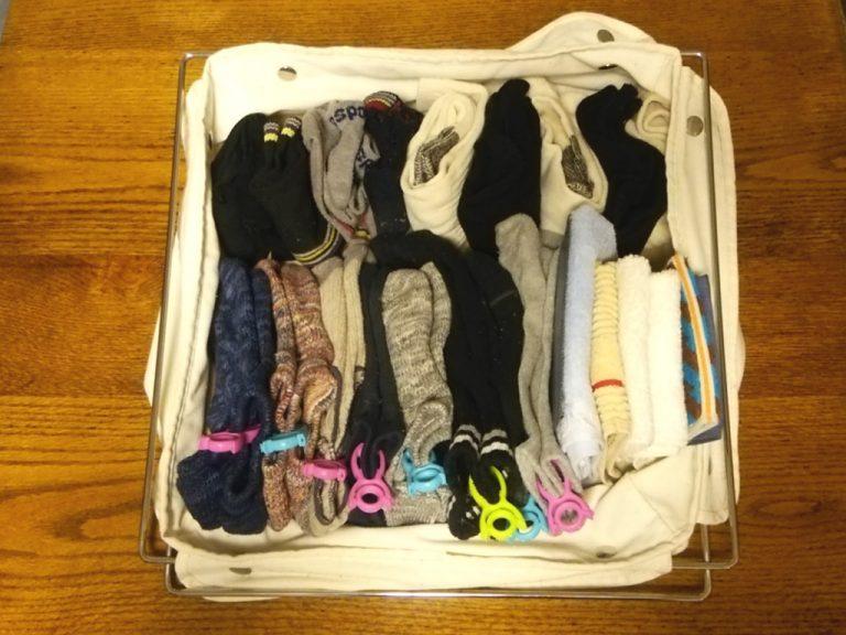 靴下のたたみ方&収納実例をご紹介16