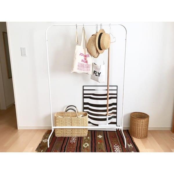 「衣類収納」に役立つアイテム&収納術!25