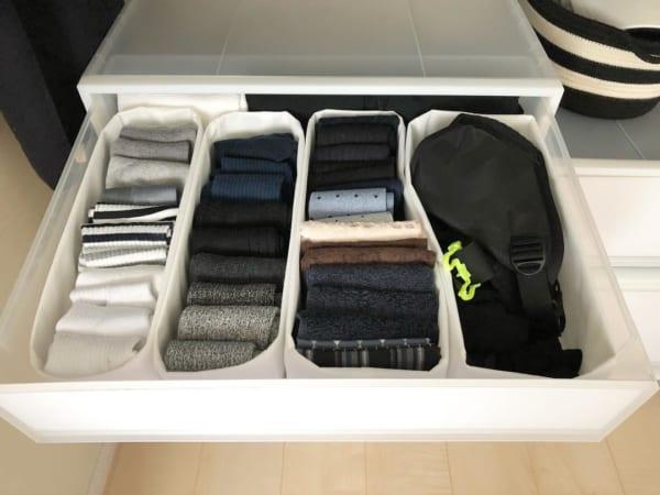 靴下のたたみ方&収納実例をご紹介38