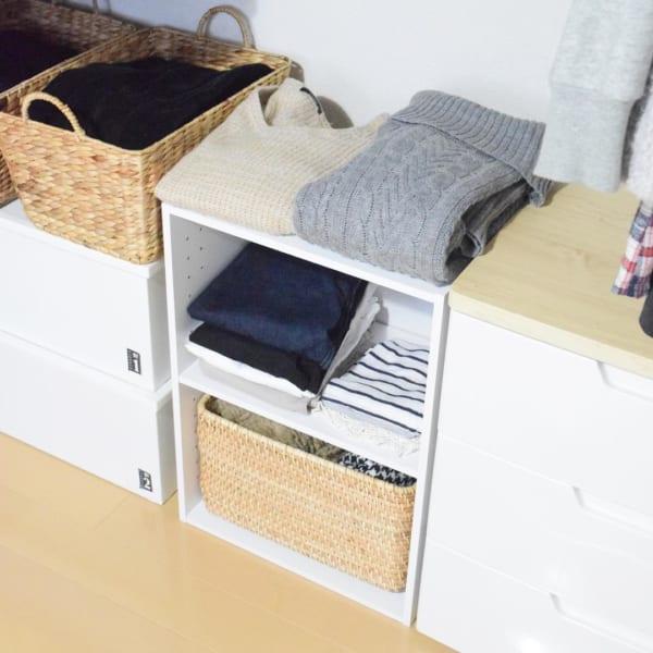 「衣類収納」に役立つアイテム&収納術!63