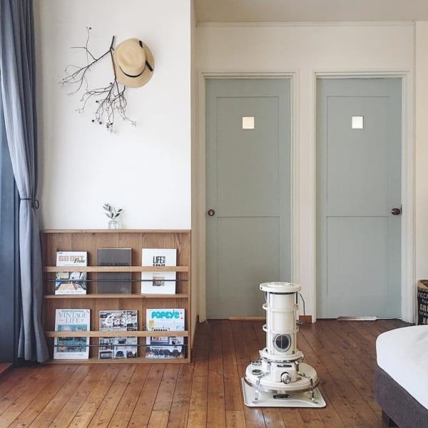 レトロな魅力でお部屋の雰囲気をオシャレに見せる6