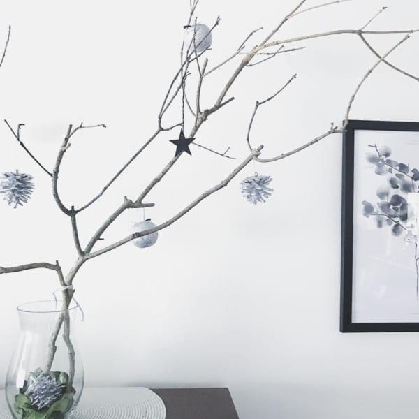 シンプルで落ち着きのあるクリスマスの飾り付けアイディア11