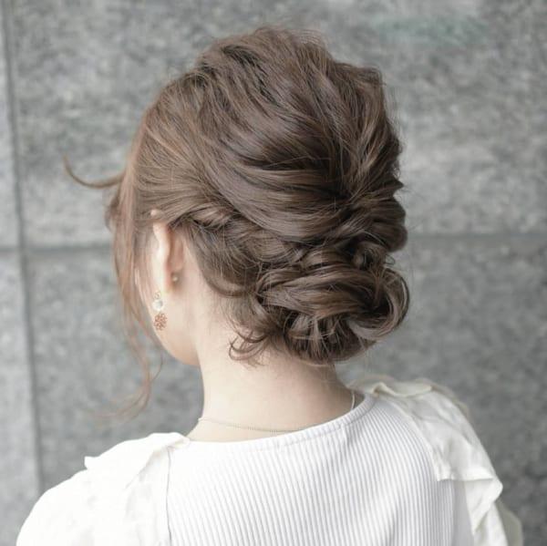 冬のまとめ髪アレンジ13
