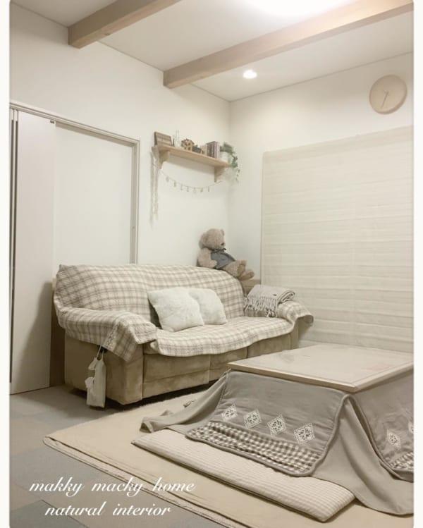 チャーミングな魅力と温もり感のあるお部屋に