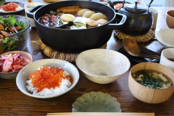熱々をテーブルに。ぬくもり感溢れる冬の食卓を演出13