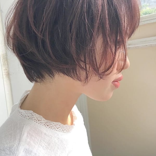 くせ毛風ショートヘア6