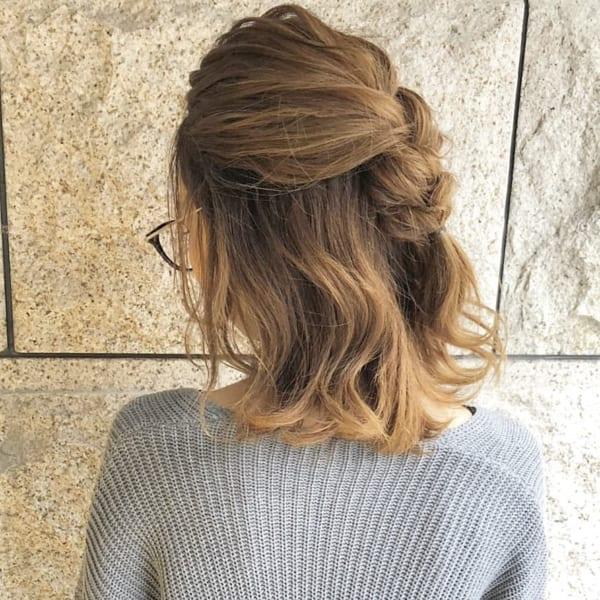 冬のまとめ髪アレンジ15