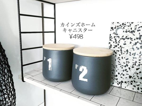 男前デザインの保存容器