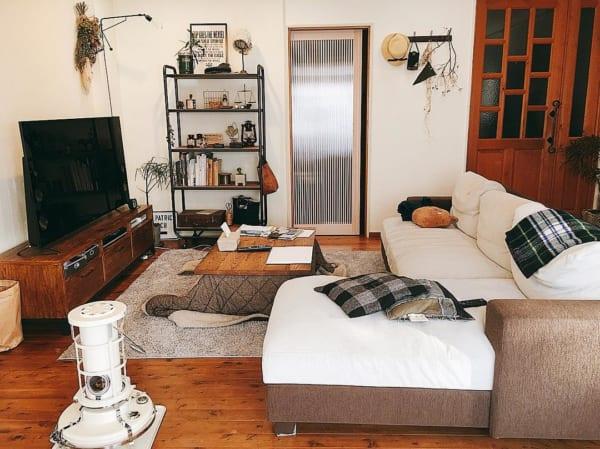 レトロな魅力でお部屋の雰囲気をオシャレに見せる10