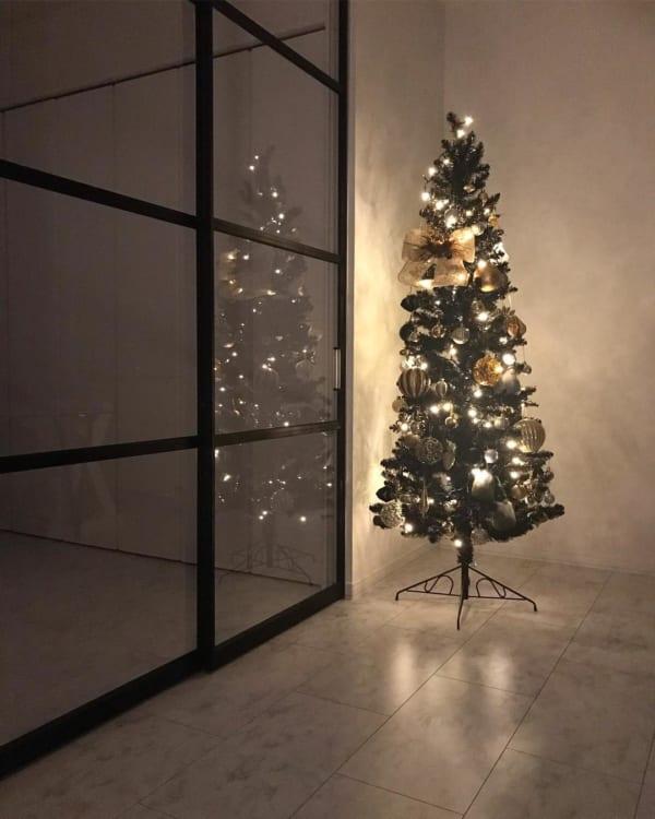 シンプルで落ち着きのあるクリスマスの飾り付けアイディア14