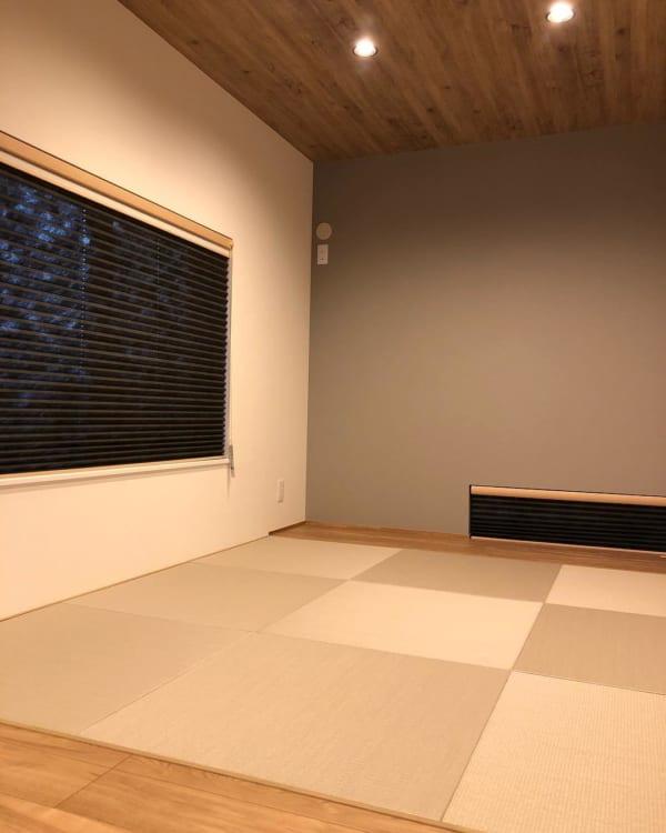 モノトーン+ウッドのシンプルな空間づくりが素敵な平屋5