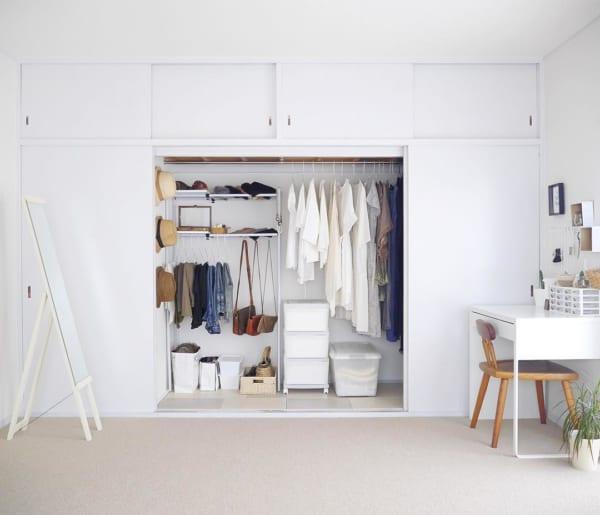 「衣類収納」に役立つアイテム&収納術!19