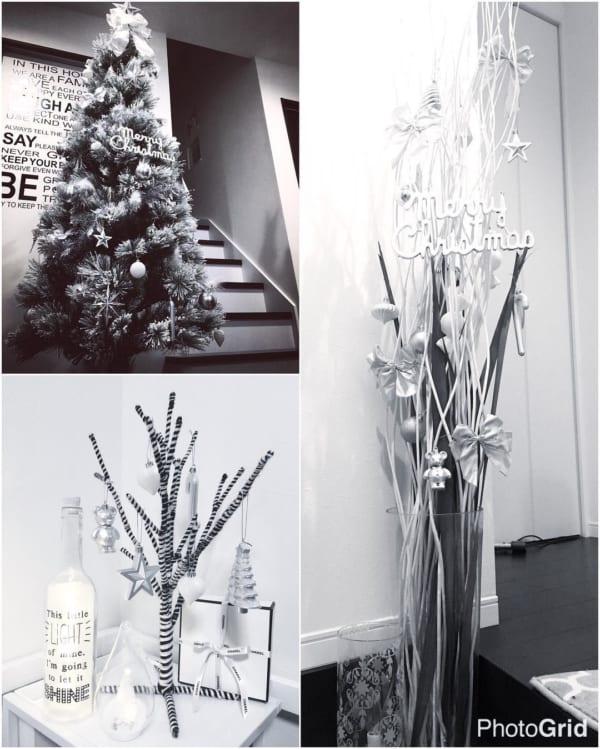 シンプルで落ち着きのあるクリスマスの飾り付けアイディア16