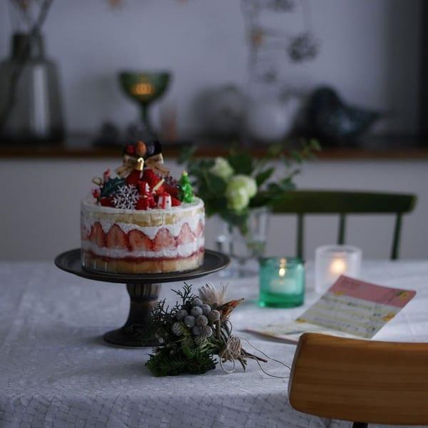 ケーキスタンド&ケーキトッパー