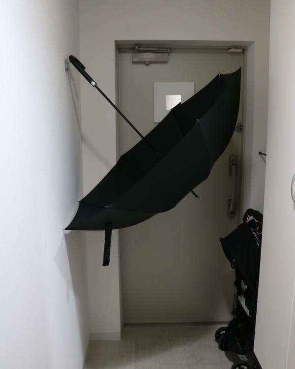 傘はカラリと乾かして