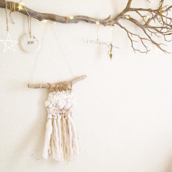 枝ものを使ったハイセンスなクリスマスディスプレイにも注目6