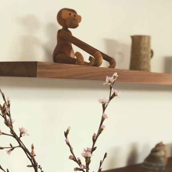 カイ・ボイスンの木製モンキー